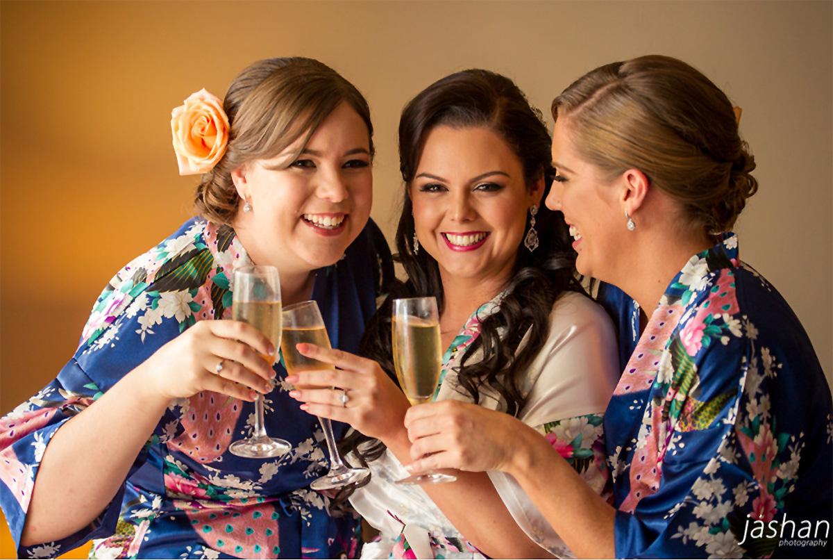 Bridesmaid-silk-robes