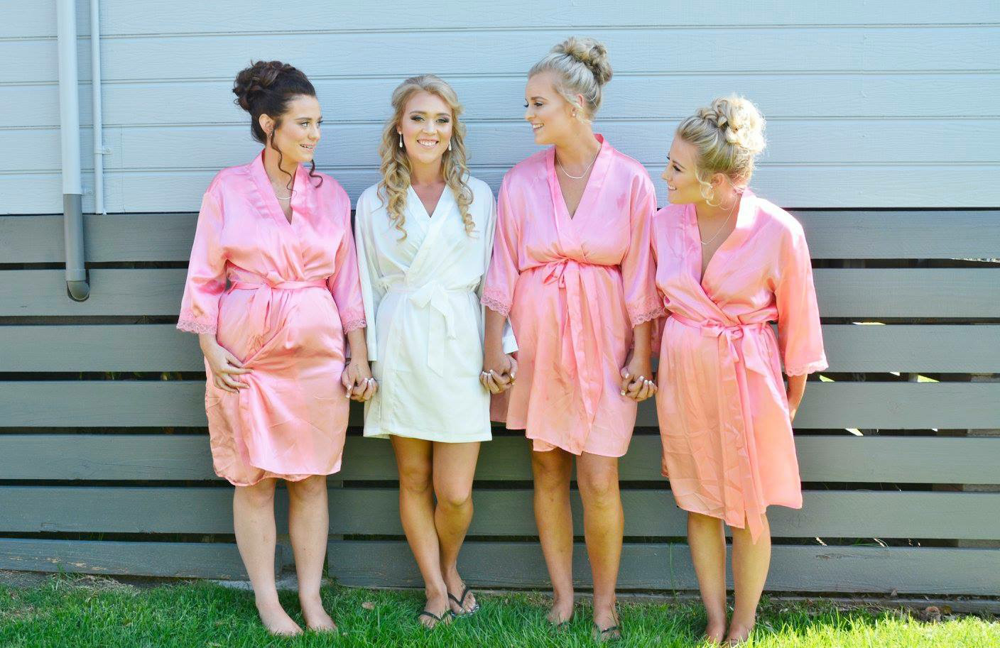 Pale Pink bridesmaid Robes