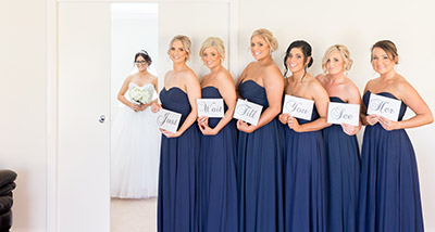 Bridesmaids Family