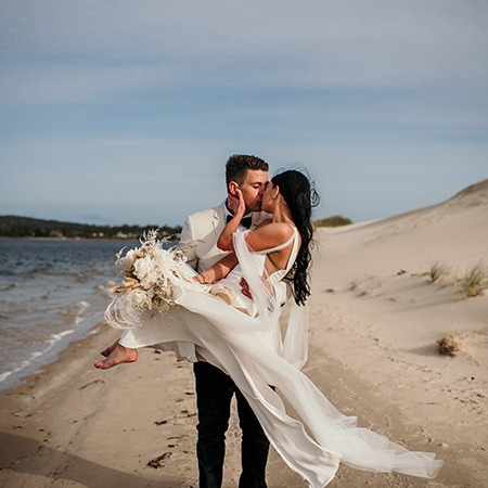 Cristie and Jeremy Cragg
