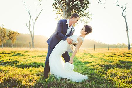 Bride & Groom, Holly Sheahan & Cody Sheahan
