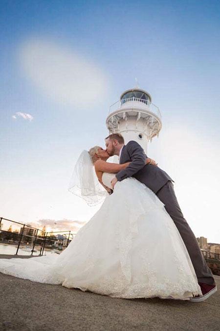 Bride & Groom, Jessica & Mark Trezona