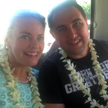 Bride & Groom, Jillian & Christopher Keating, honeymoon