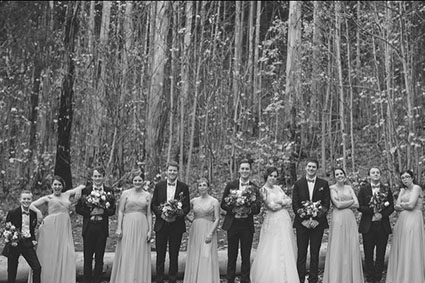 Bride & Groom, Lydia & Joel Dish, wedding flowers