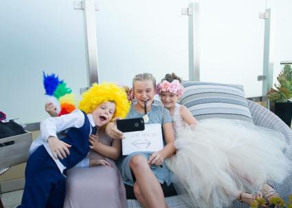 Bride & Groom, Priscilla & Kasey Godier