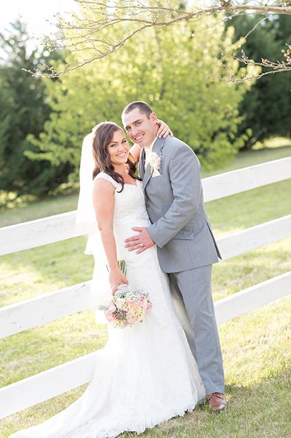 Bride, Emma Lomas, wedding flowers