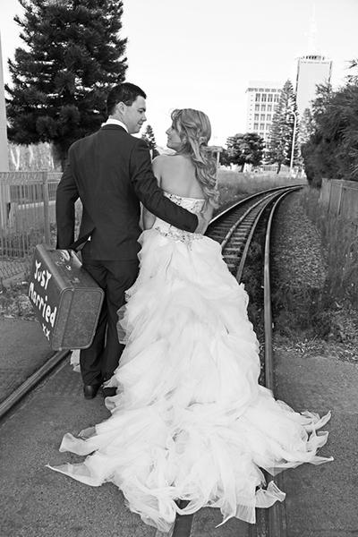 Bride & Groom, Vanessa & Justin Giles