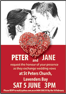 PJ's Invitations & illustrations
