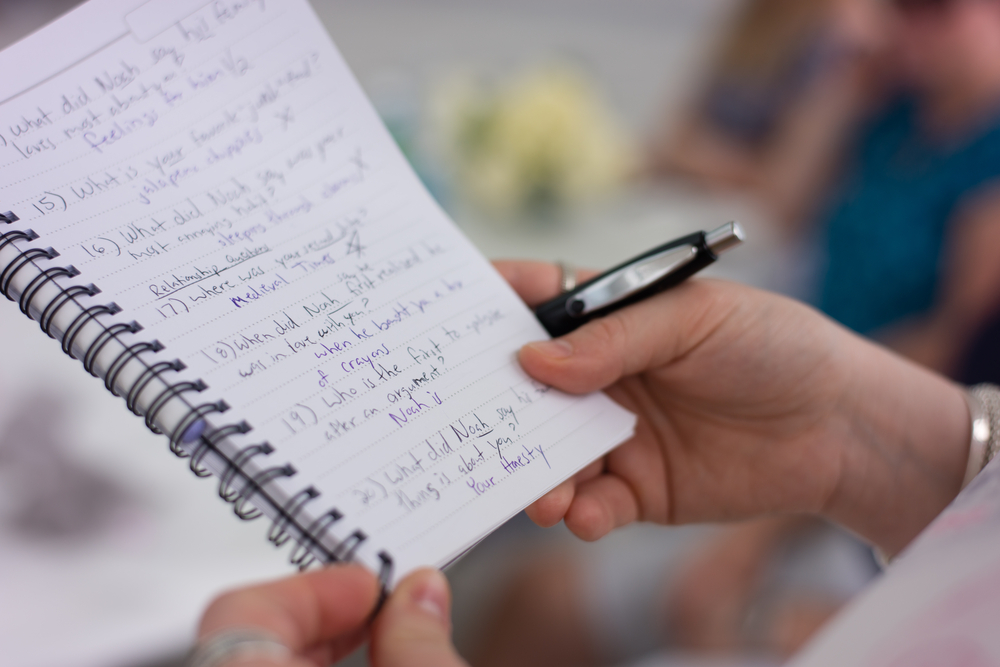 bridal party games nearly newlywed game