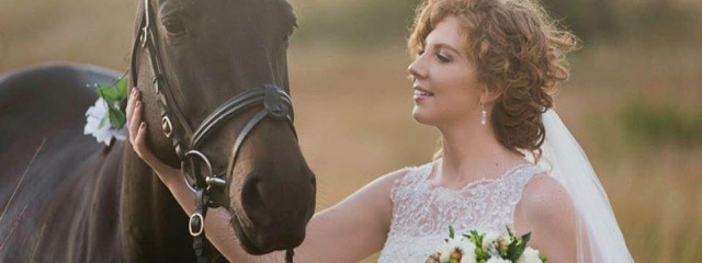 horses in your wedding